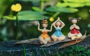 trois dames ceramique zen nature